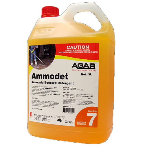 Ammodet - Ammonia Boosted Heavy Duty Detergent 5L