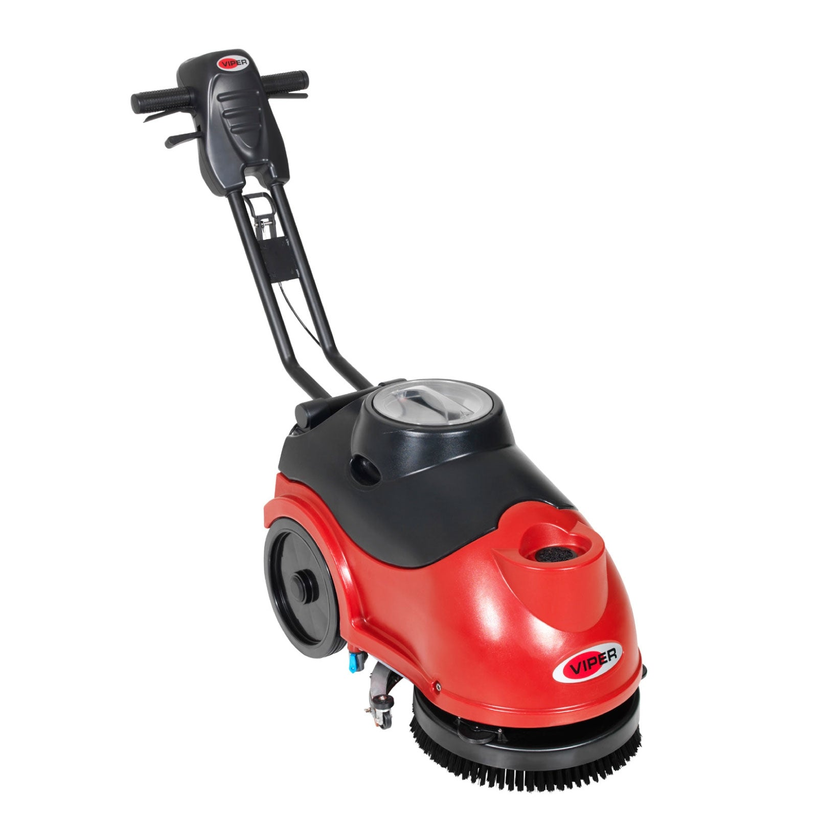 "VIPER AS380B 15"" Compact Battery Operated Walk Behind Scrubber Dryers"