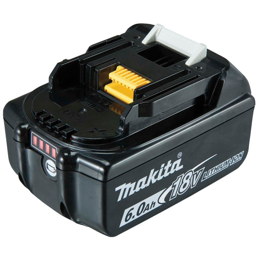 Makita Li-Ion 18V Battery with fuel gauge indicator