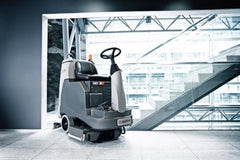 Nilfisk BR855 Industrial  Ride On Scrubber Dryer
