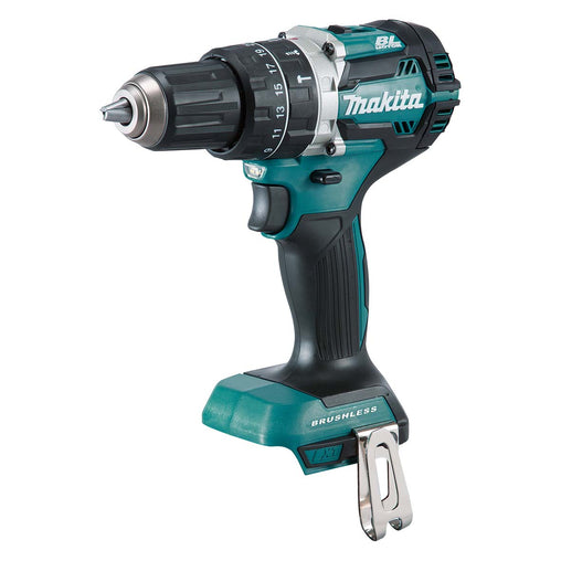 Makita DHP484 18V Mobile Brushless Heavy Duty Compact Hammer Driver Drill