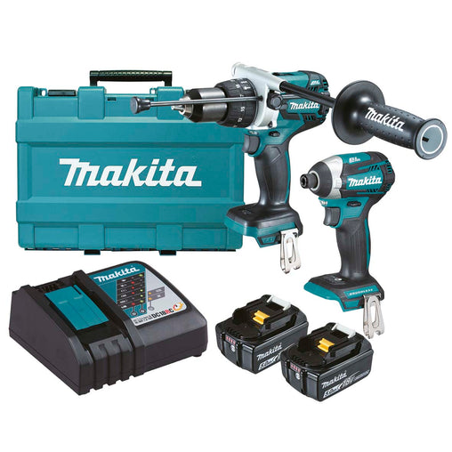 Makita DLX2176T 18V Mobile Brushless 2 Piece Combo Kit
