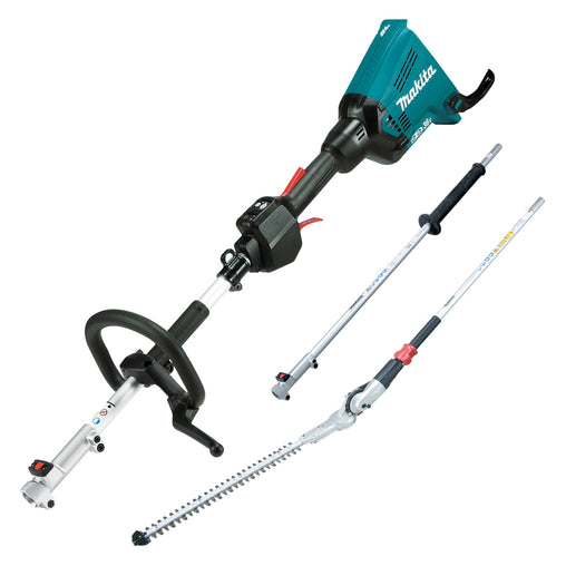 Makita DUX60PH 36V (18Vx2) Li-ion Brushless Multi-Function Powerhead & Hedge Trimmer Kit