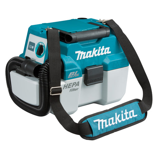 Makita DVC750LX1 18V BRUSHLESS Wet/Dry Vacuum, Portable, Dust Extraction