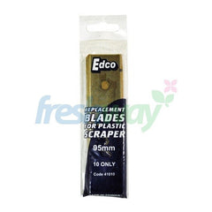 Edco Replacement Blades for Plastic Scraper 95mm- Pack of 10 (41010)
