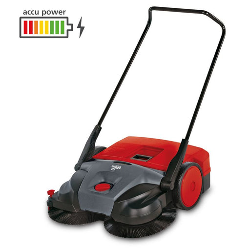 Haaga 677 - Battery Sweeper Made in Germany