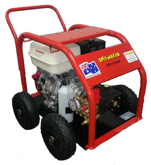 SPITWATER HE13-200P 3000PSI 9HP Industrial Petrol Cold Water Pressure Cleaner SCWA68