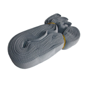 Hose Socks Knitted Grey With Tube 9M