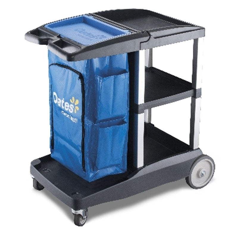 Oates Platinum Housekeeping cart - Compact #JC-3100C