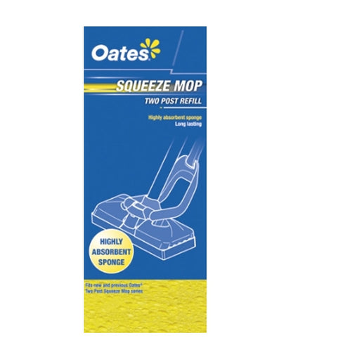 Oates Squeeze Mop 2 Post Refill # MS-002