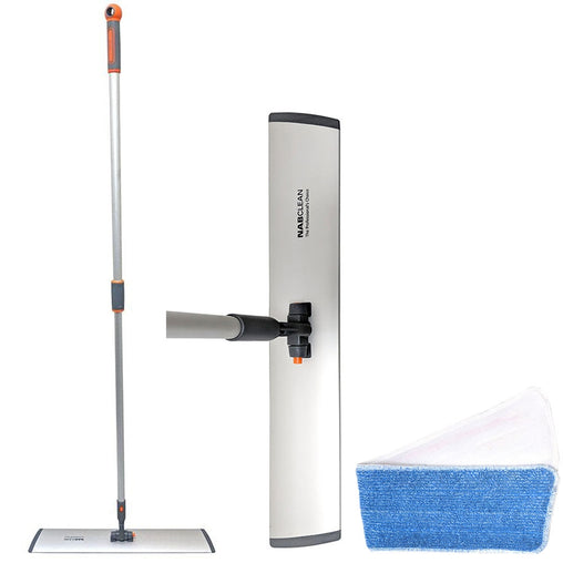 NAB Clean Flat Mop with Extendable Handle - FMS