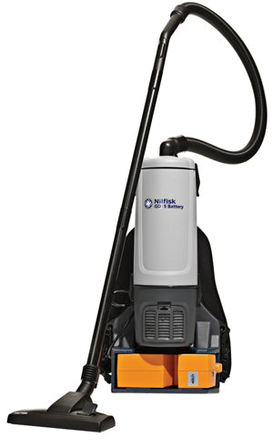 Nilfisk GD5 Battery powered Backpack Commercial Vacuum Cleaner 36V 650W 5L