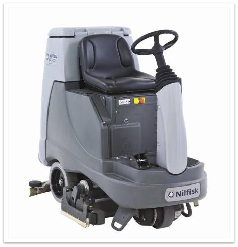 Nilfisk BR755 C Industrial Ride On Scrubber Dryer