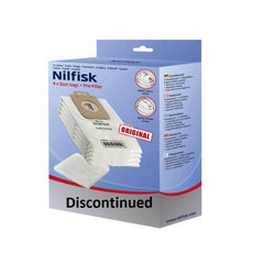 Nilfisk Select Series / Power Series Original Quality Dust Bags 4 Bags + Pre-filter