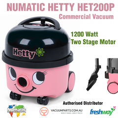 NUMATIC Hetty HET200P Commercial Vacuum Cleaner