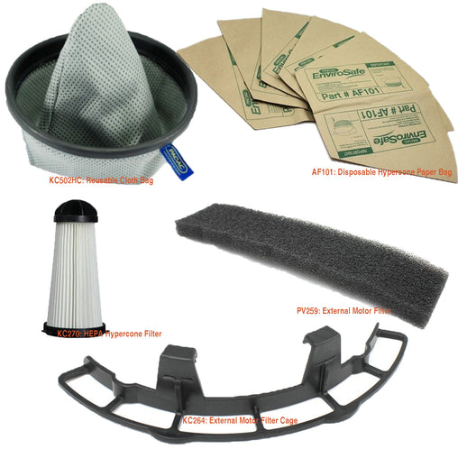 Genuine PACVAC Superpro 700 series Service kit