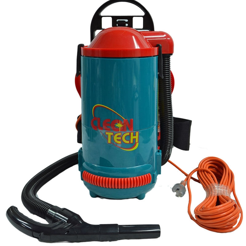 CLEANTECH Piggy Vac Backpack Vacuum Cleaner