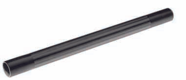 Black Plastic Rod 35mm