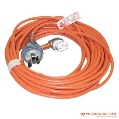 3 Core Right Angle IEC Lead Extension cord 15 m 10 amp suits Pullman Origin Vac