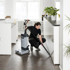 NILFISK SC100 Walk Behind Upright Scrubber Dryer with Carpet Kit