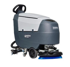 Nilfisk SC401 Battery & Electric Powered Walk Behind Scrubber Dryer