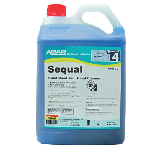 Sequal - Toilet and Bathroom Cleaning