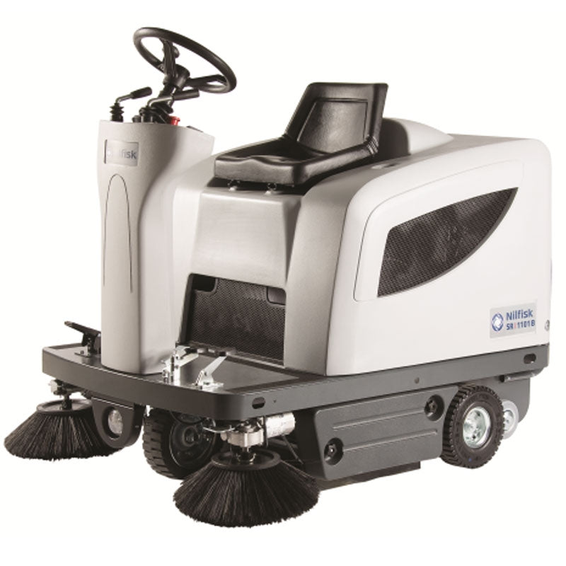 NILFISK SR1101 Ride On Battery Sweeper