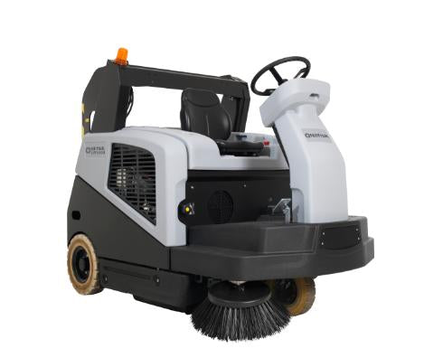 Nilfisk SW5500 Industrial Hybrid Ride on sweeper Diesel LPG Battery