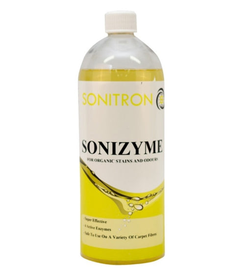 Sonizyme for Organic Stains and Odours