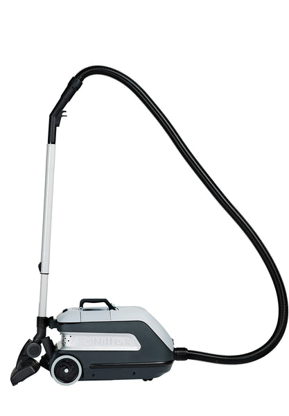 NILFISK VP600 Battery Commercial Dry Canister Vacuum Cleaner