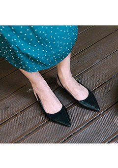 One Inspiration Pointed Mules