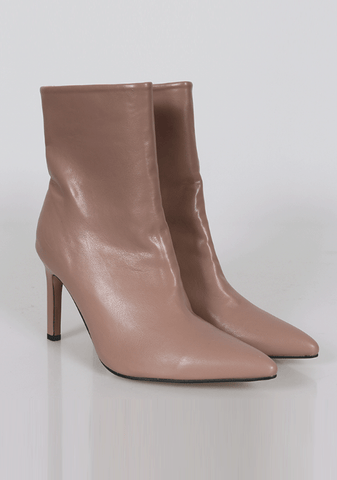 High Edge Ankle Boots