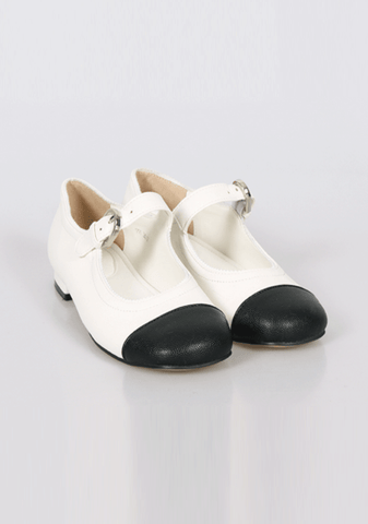 Fresh Ground Heaven Strap Flat Shoes