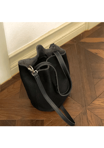 Trust The Timing Bucket Bag