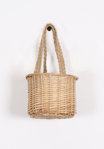 We Got Nowhere To Go Straw Bucket Bag