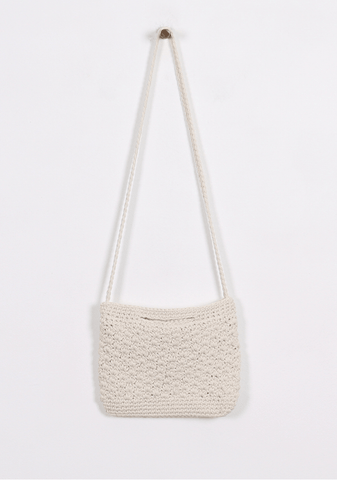 Natural Knit Bag