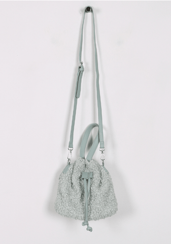 The Talk Of The Town Faux-Fur Bag