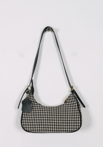 All Too Well Houndstooth Shoulder Bag