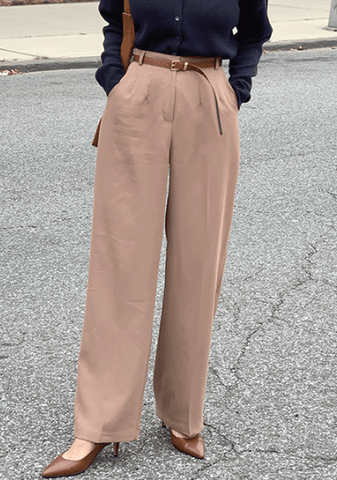Economy Candy Wide Legs Slacks
