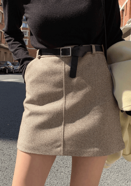 Becoming Happy Mini Skirt