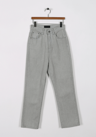 We Could Win This Gray Denim Pants