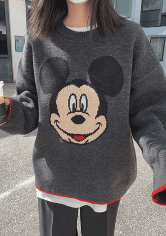 Disney On My Mind Knit Sweater