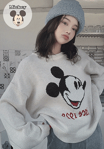 Mickey Situation Knit Sweater