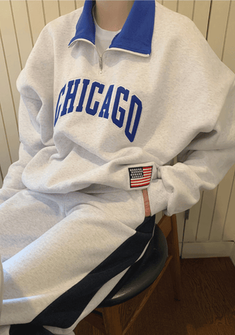Chicago Vintage Anorak Sweatshirt