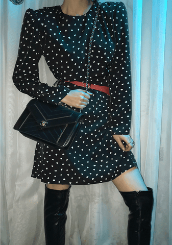 Wild Hearts Dots Dress