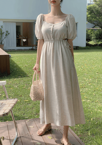 I Just Have A Request Linen Dress