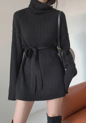 Different Perspectives Knit Dress