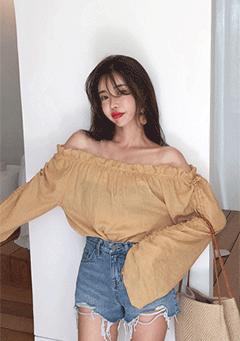 Aloran Off Shoulder Blouse