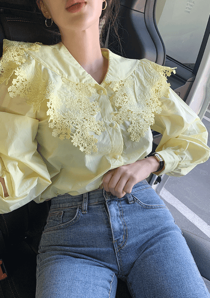 Dont Need To Rush Ruffle Blouse