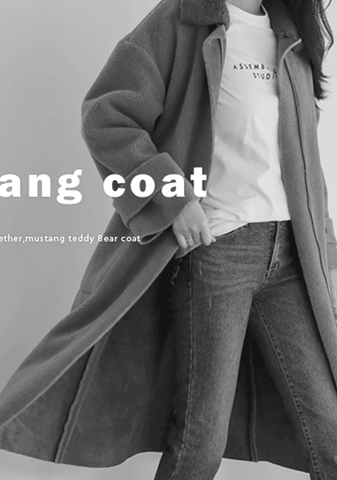 A Different Culture Faux-Shearling Coat